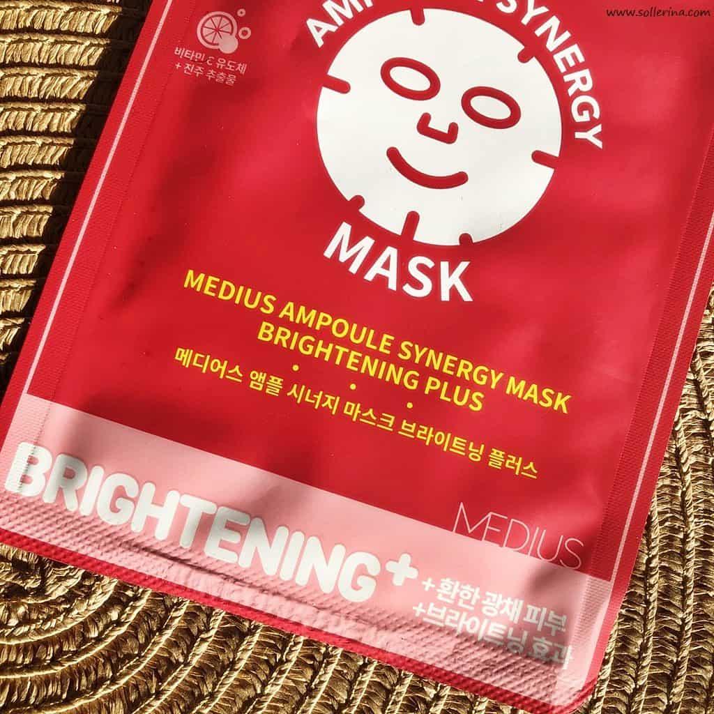 Medius - maska rozjaśniająca
