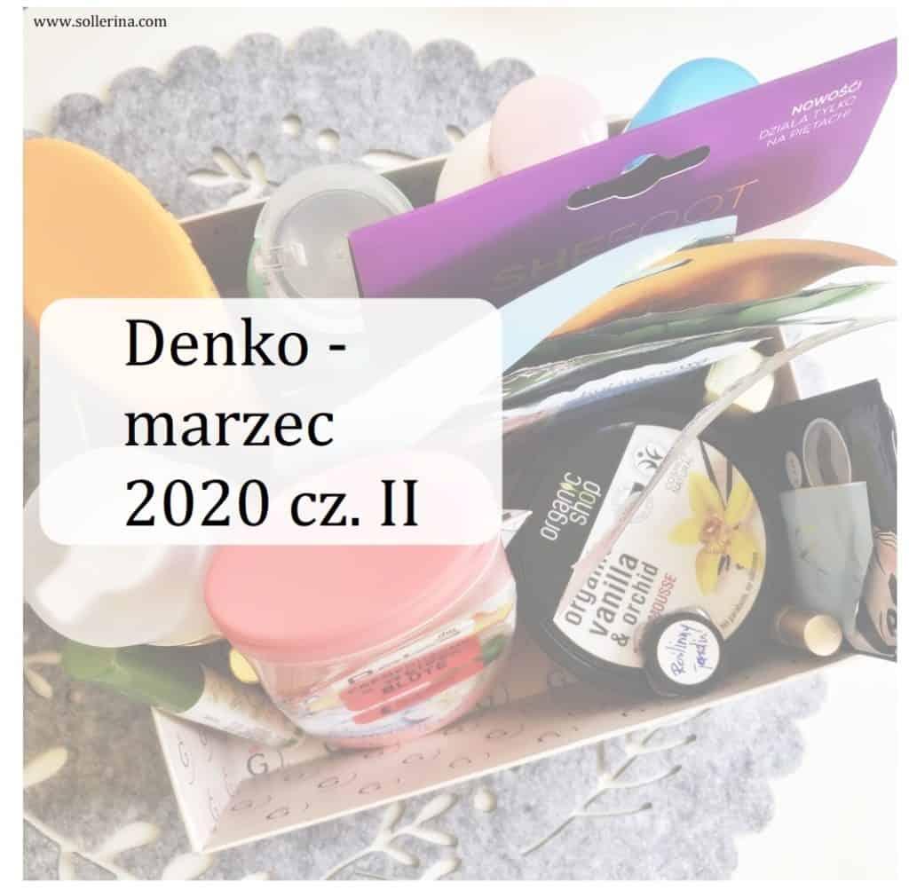 denko marzec 2020