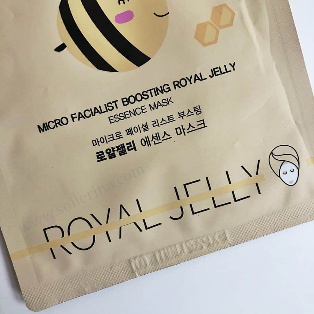 Beauty Kei - Micro Facialist Boosting Royal Jelly Essence Mask
