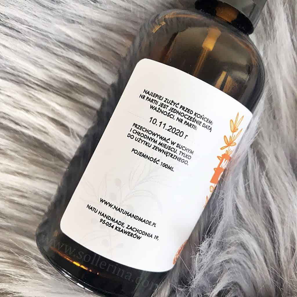 Natu Handmade olejek do demakijażu olio struccante
