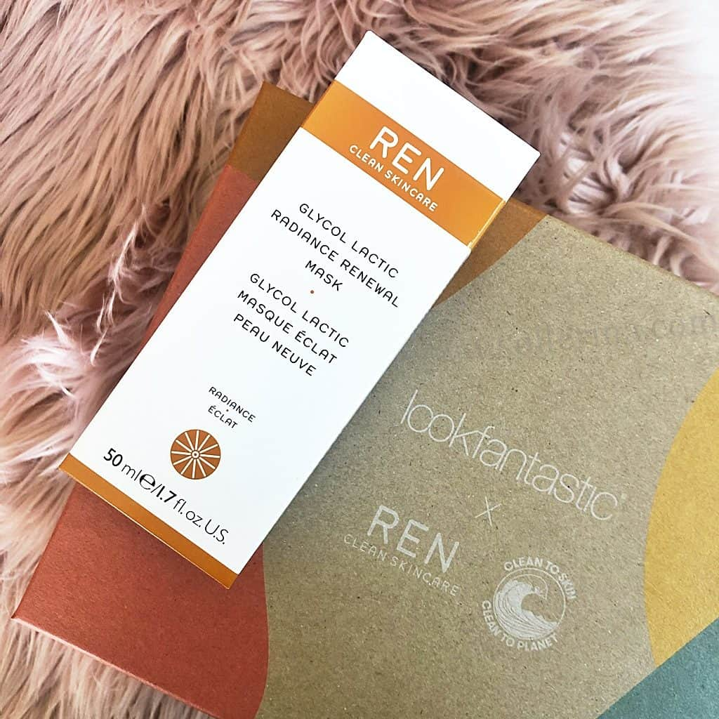 Ren Clean Skincare - Glycol Lacic Radiance Renewal Mask