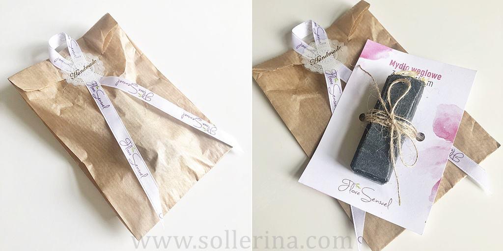 Flore Sensuel – mydło węglowe z nagietkiem - sapone al carbone con calendula