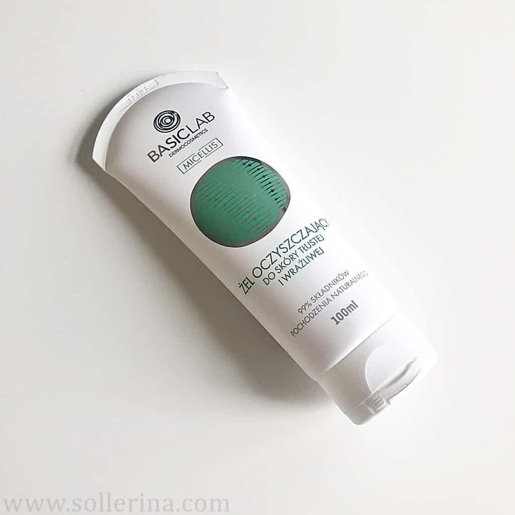 Basiclab – żel oczyszczający do skóry tłustej i wrażliwej - gel detergente per pelli grasse e sensibili