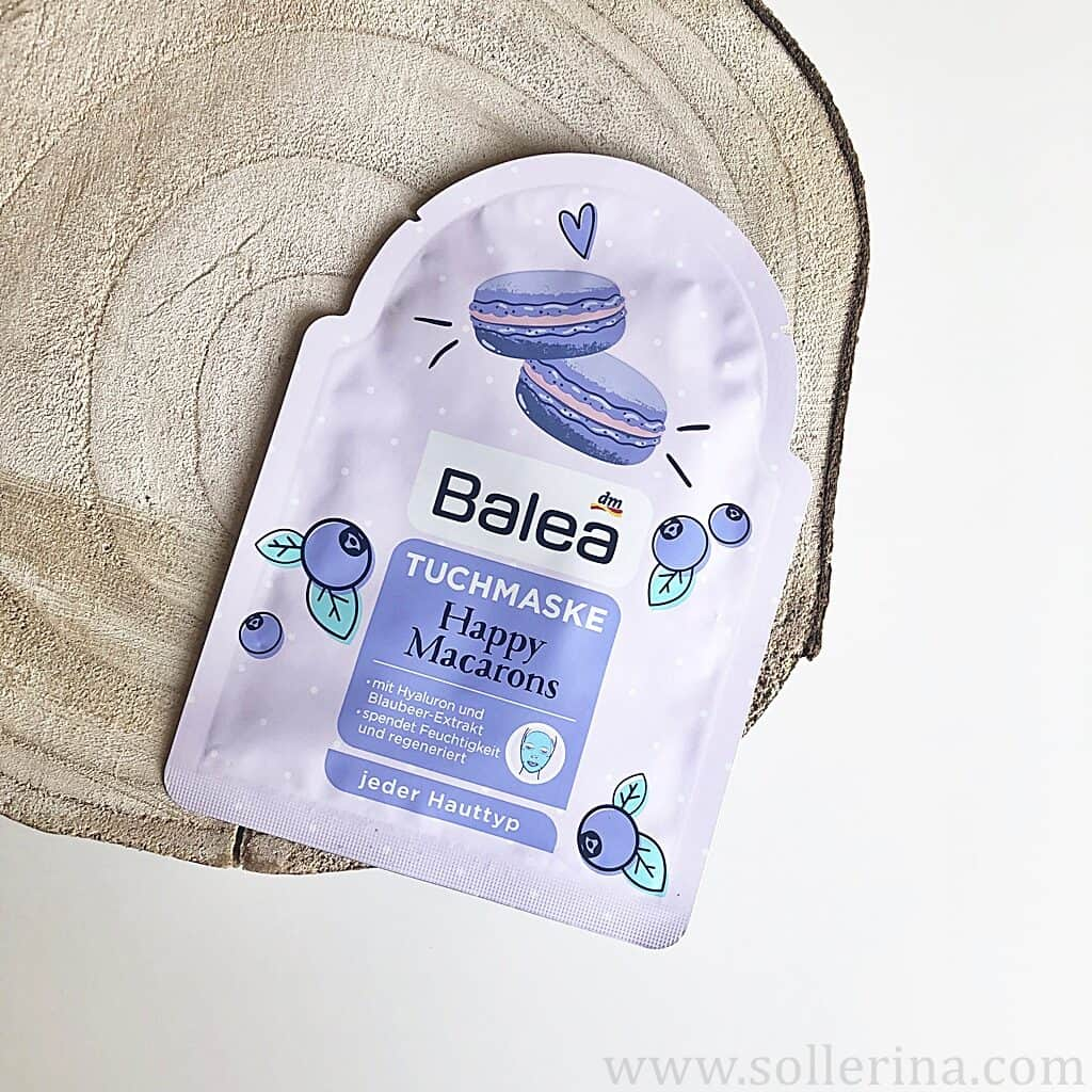 Balea – tuchmaske – Happy Macarons