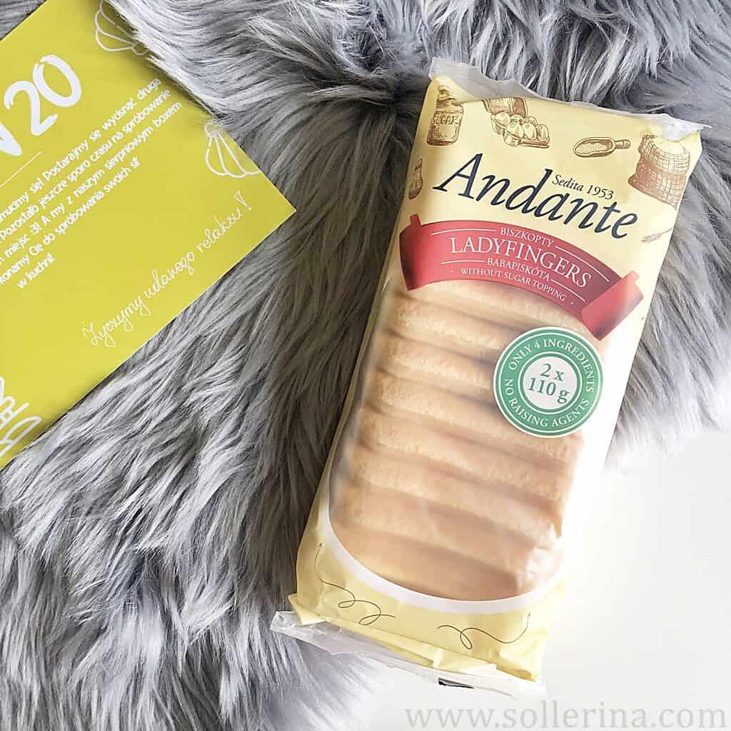Andante – biszkopty Ladyfingers