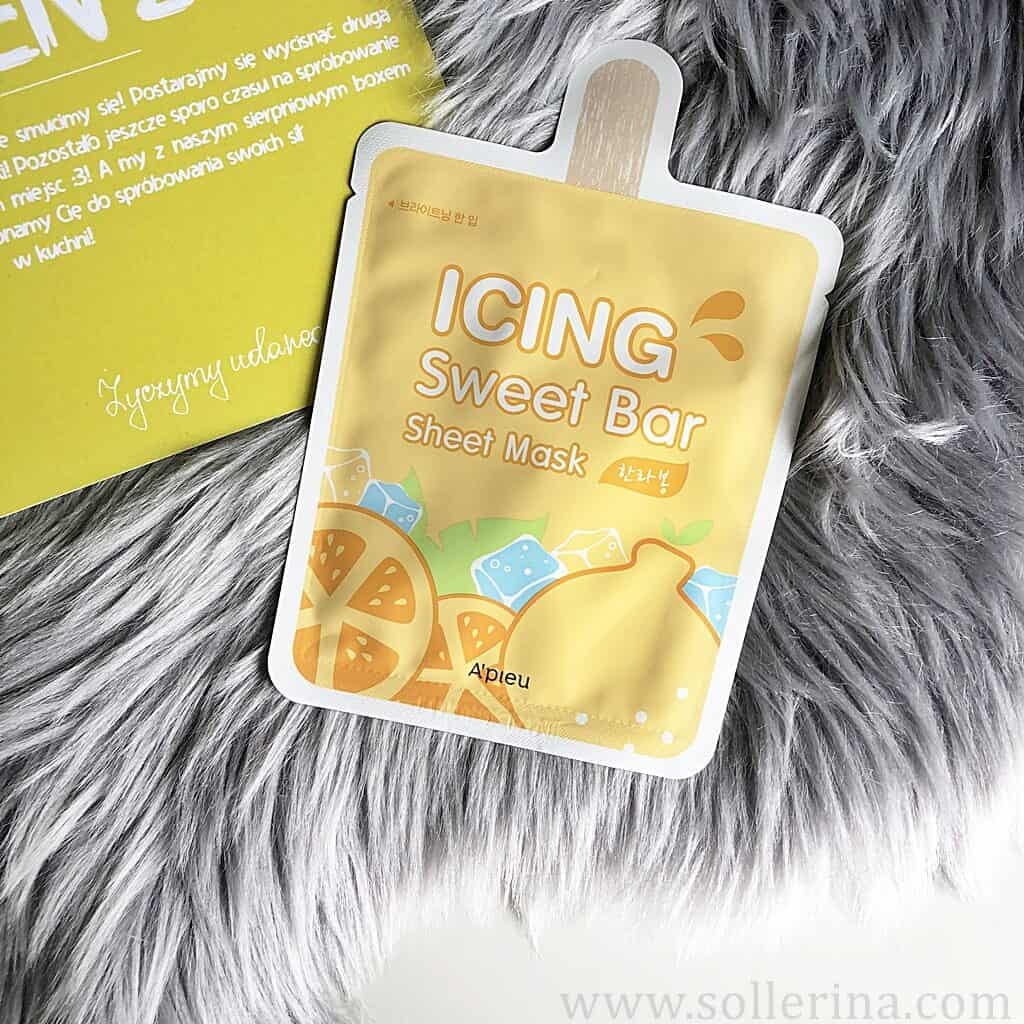 A'pieu – Icing Sweet Bar Sheet Mask