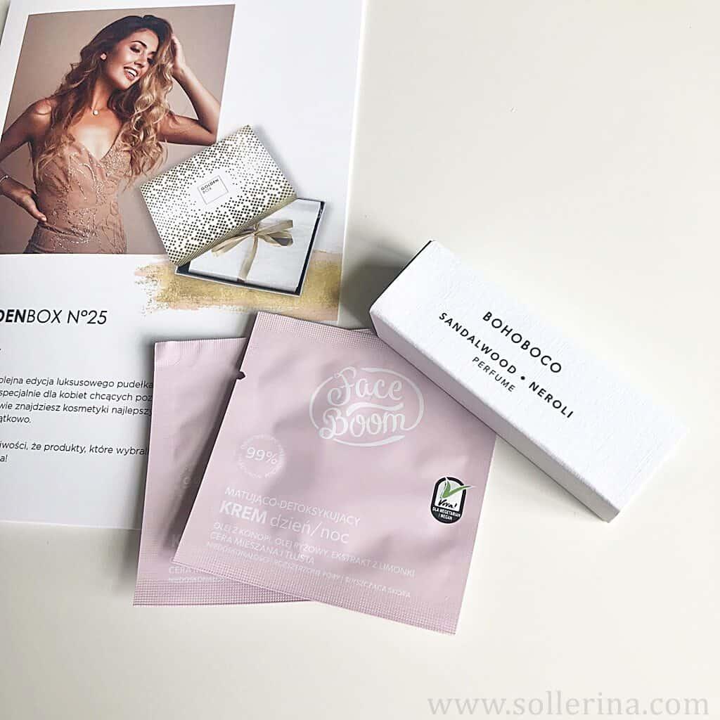 Bohoboco – perfume & Face Boom – próbki