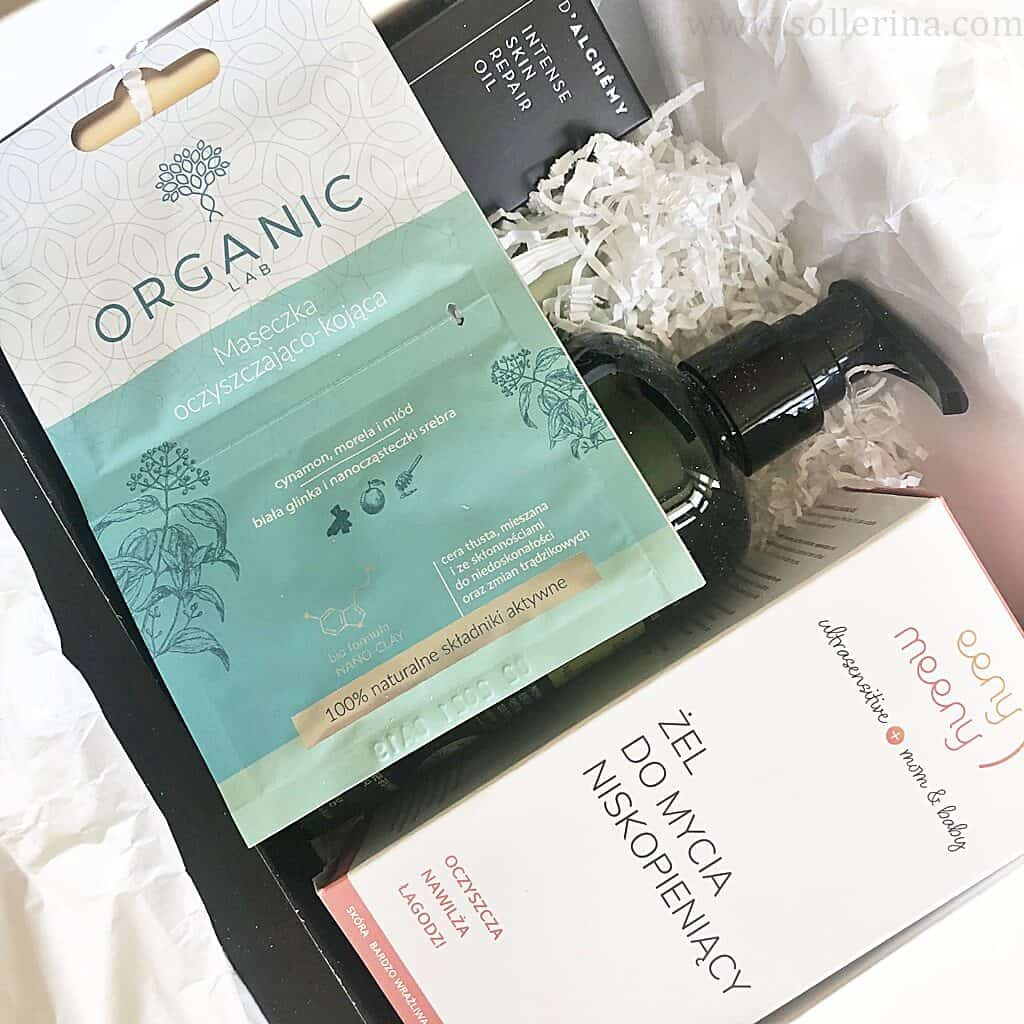 Goldenbox – wrzesień 2020 | Organic Lab, Eeny Meeny Cosmetics, Emma Hardie, Axiology, KNH, D'Alchemy, Mr. Whitening