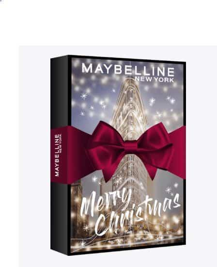 DM Maybelline kalendarze adwentowe adventskalender calendari dell'avvento 2020