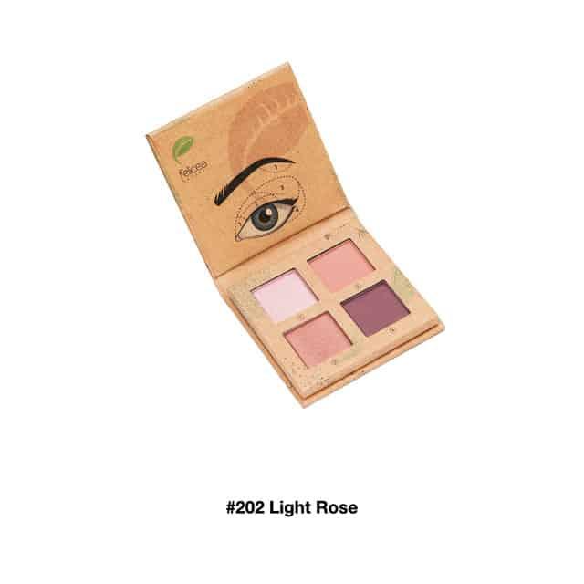Felicea - Paleta naturalnych cieni do powiek - #202 Light Rose