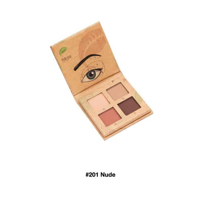 Felicea - Paleta naturalnych cieni do powiek - #201 Nude