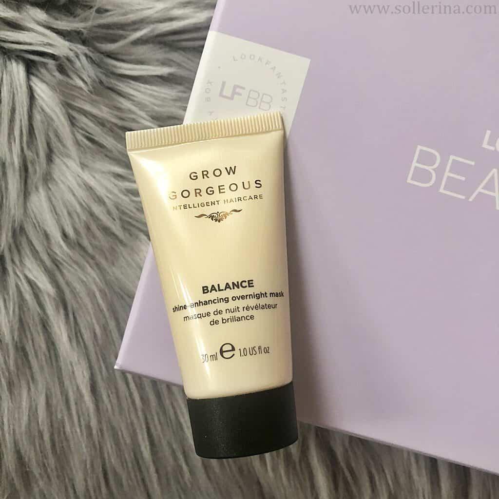 Grow Gorgeous – Balance – shine-enhancing overnight mask