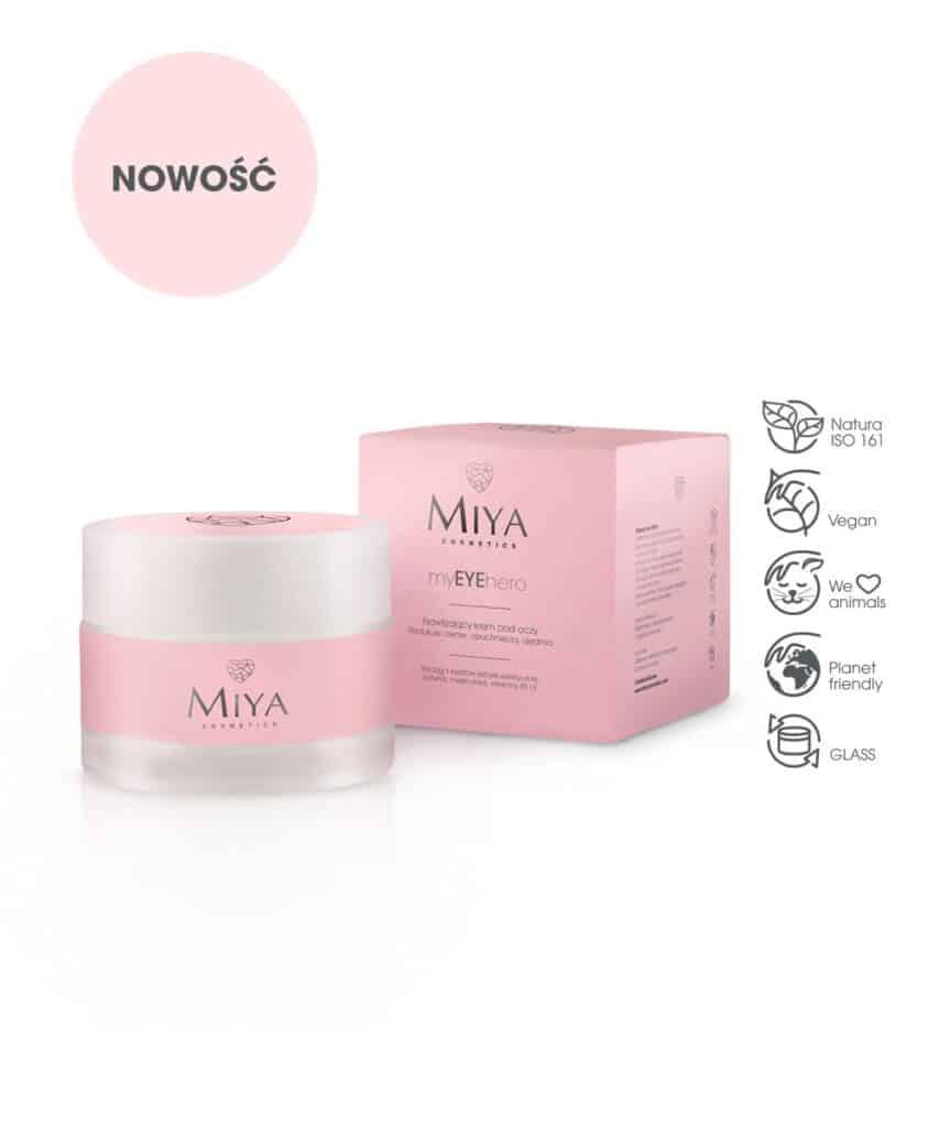 Source: Miya Cosmetics – myEYEhero – nawilżający krem pod oczy