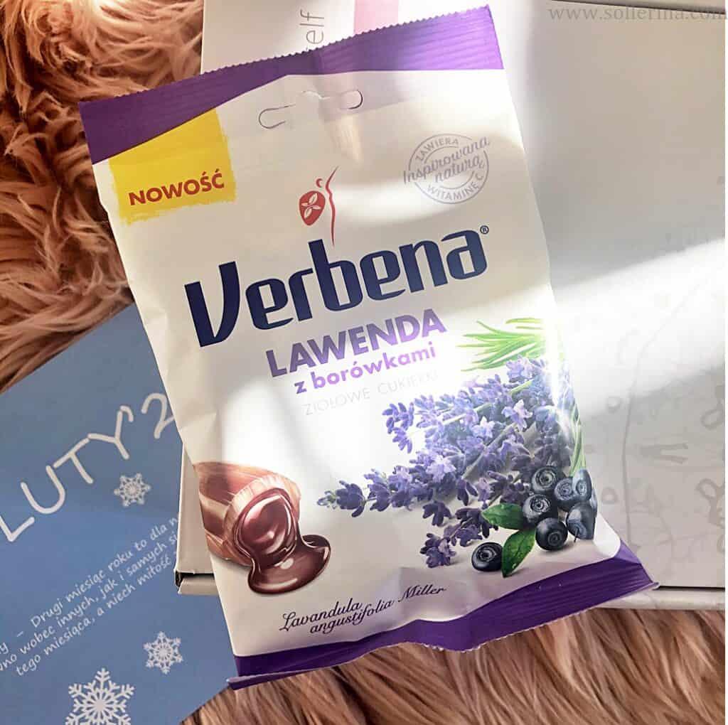 Verbena – ziołowe cukierki – lawenda z borówkami