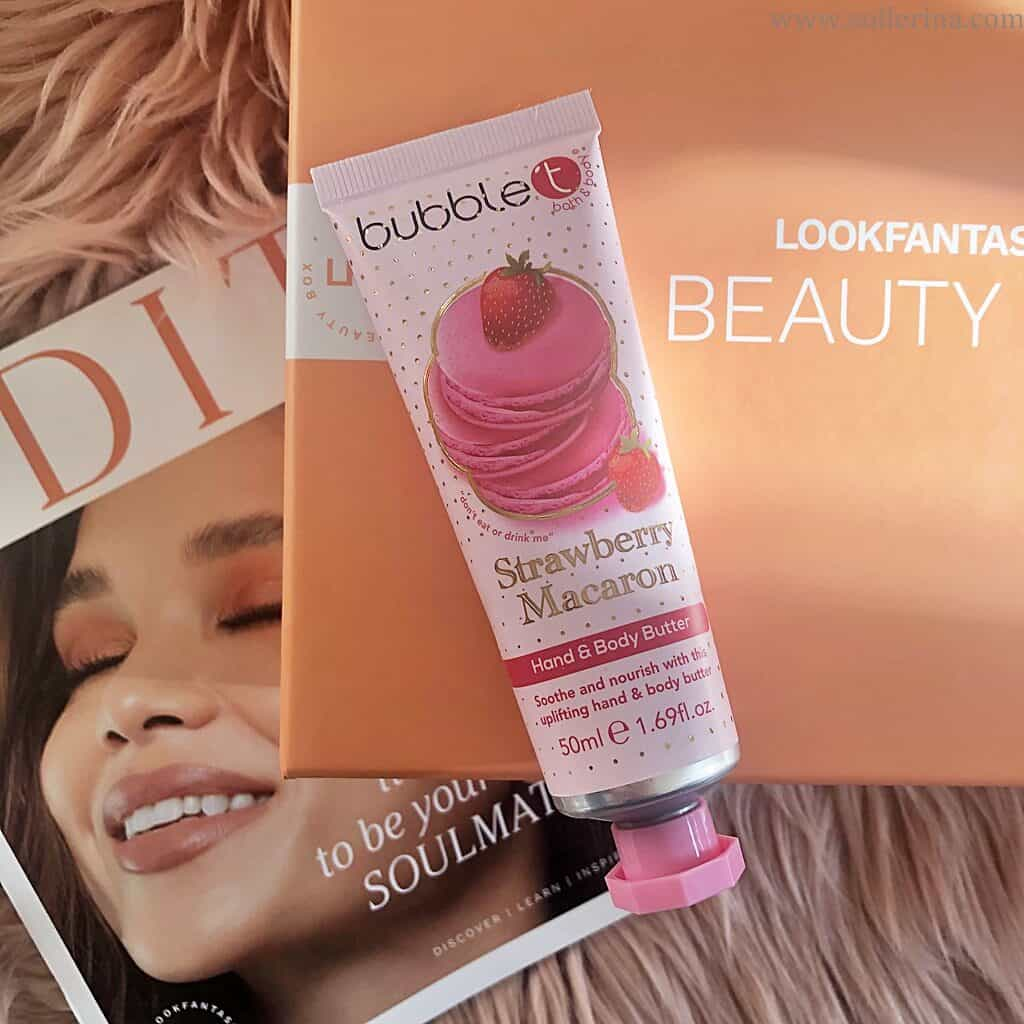 Bubble T – Strawberry Macaroon – Hand & Body Butter