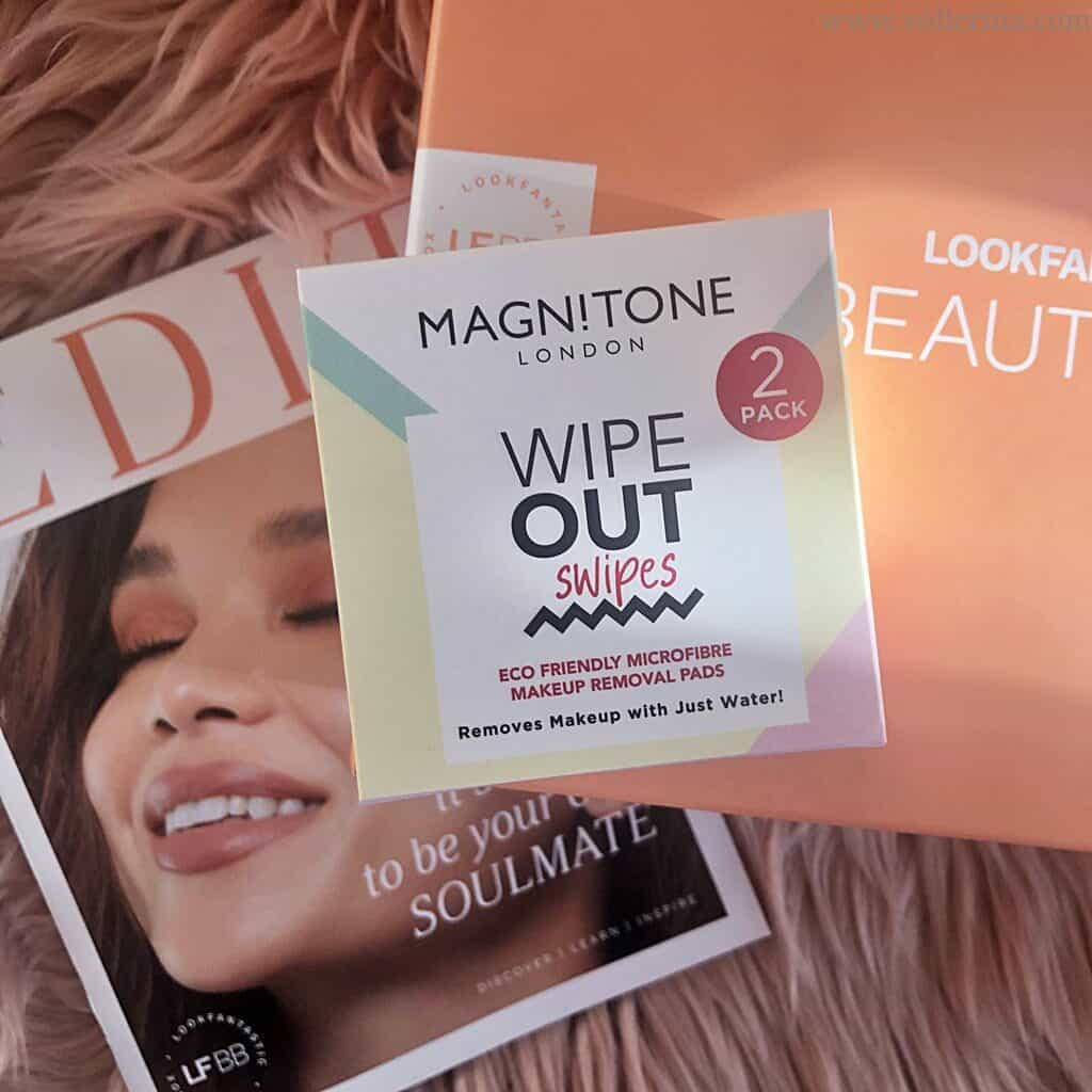 """Magnitone London – Wipeout """"Swipes"""" Eco-Friendly Makeup Remover Pads"""