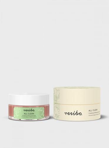 Resibo – All Clean – Creamy purifying clay mask – Oczyszczająca maska z glinką