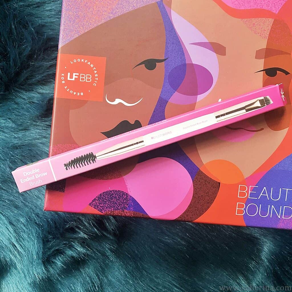 Brushworks – Double Ended Brow Brush