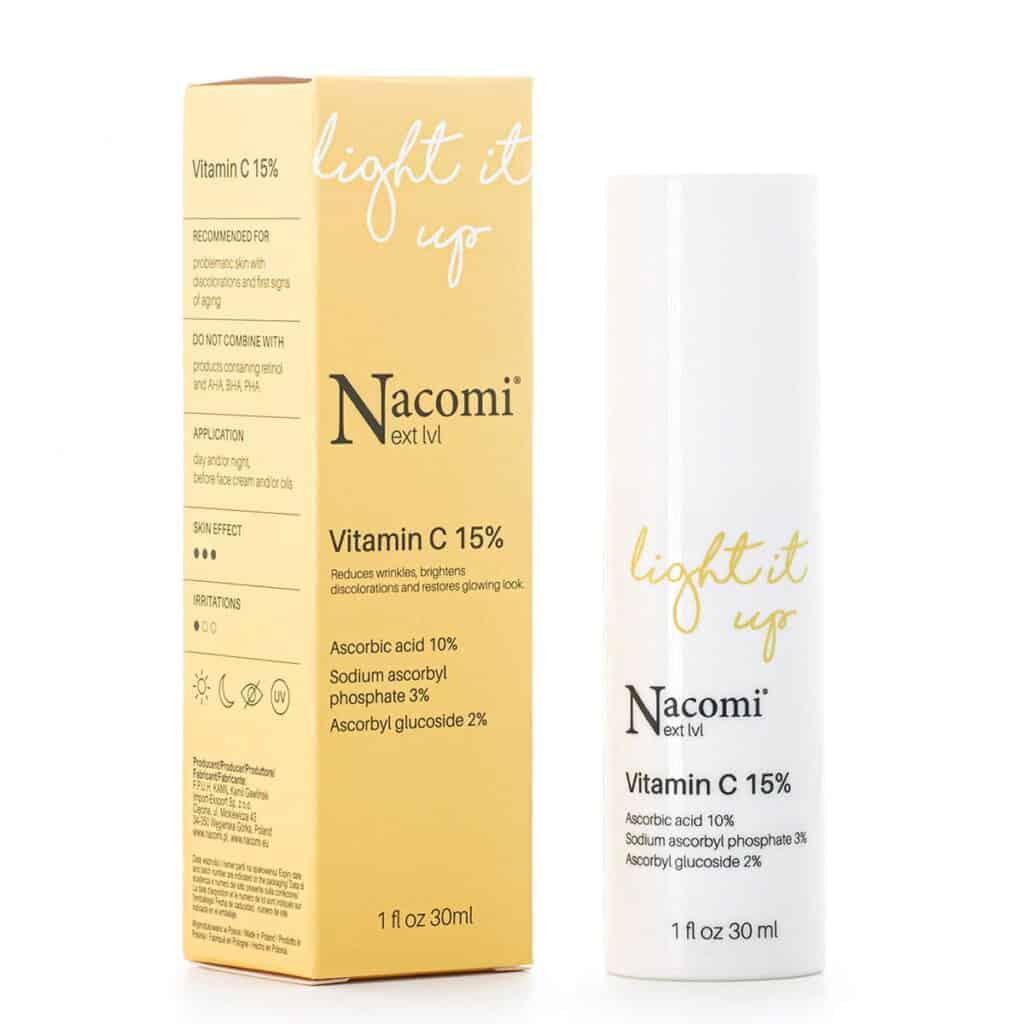 Nacomi Next lvl – Serum z witaminą C 15%