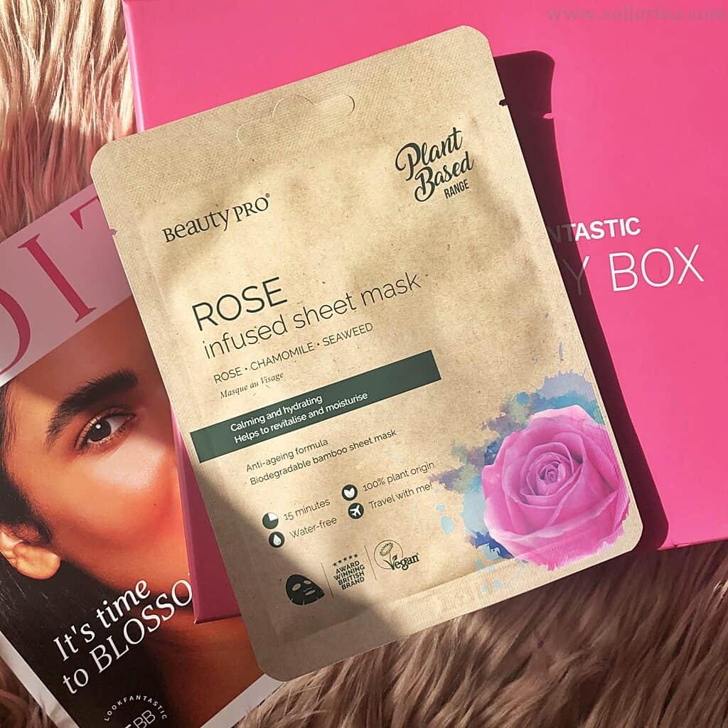 Beauty Pro – Rose Infused Sheet Mask
