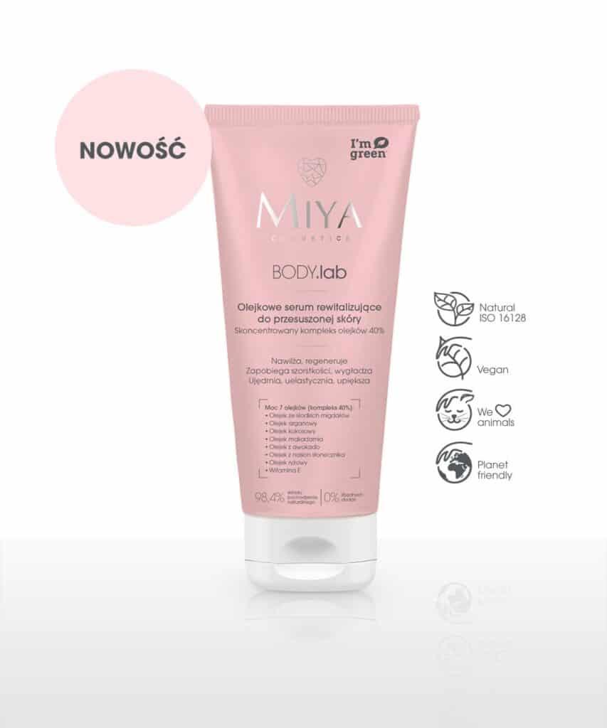 Miya Cosmetics – BODY.lab - Olejkowe serum rewitalizujące do przesuszonej skóry