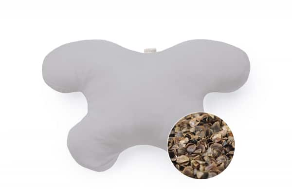 Clochee Simply Organic - Poduszka antyzmarszczkowa z poszewką bambusową – jasny szary (fot. Clochee Simply Organic)