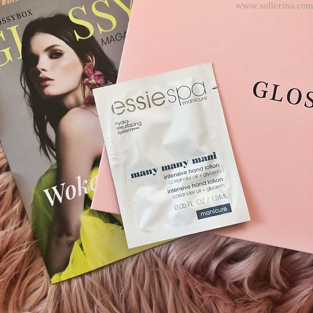Próbka: Essie Spa Manicure – Many Many Mani – Intensive Hand Lotion