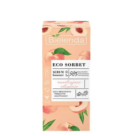 ECO SORBET Brzoskwinia – serum booster nawilżająco-odżywcze (Fot. Bielenda)
