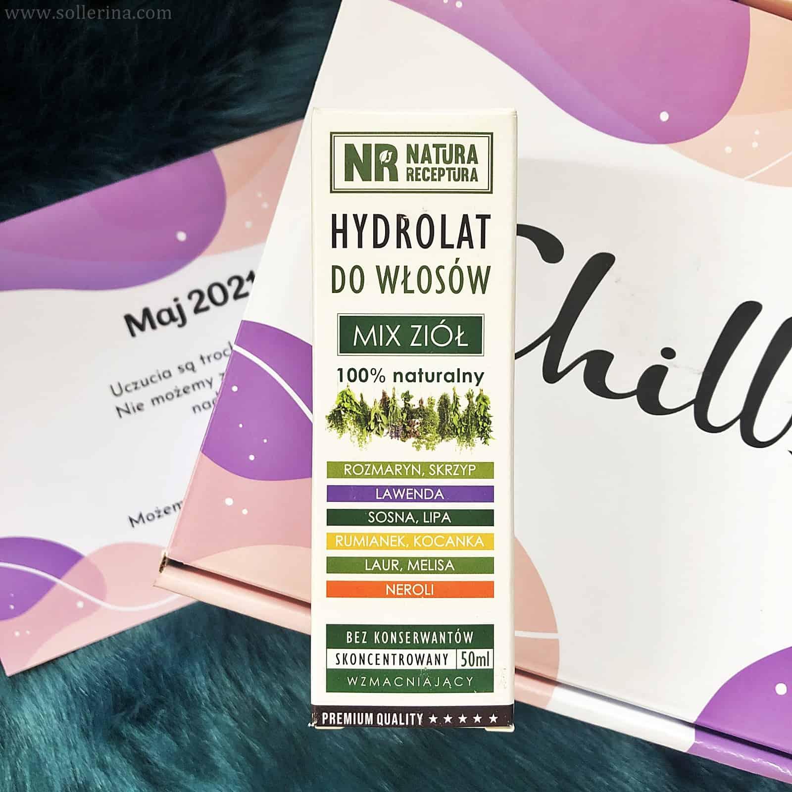 Natura Receptura – Hydrolat do twarzy i włosów - Mix Ziół