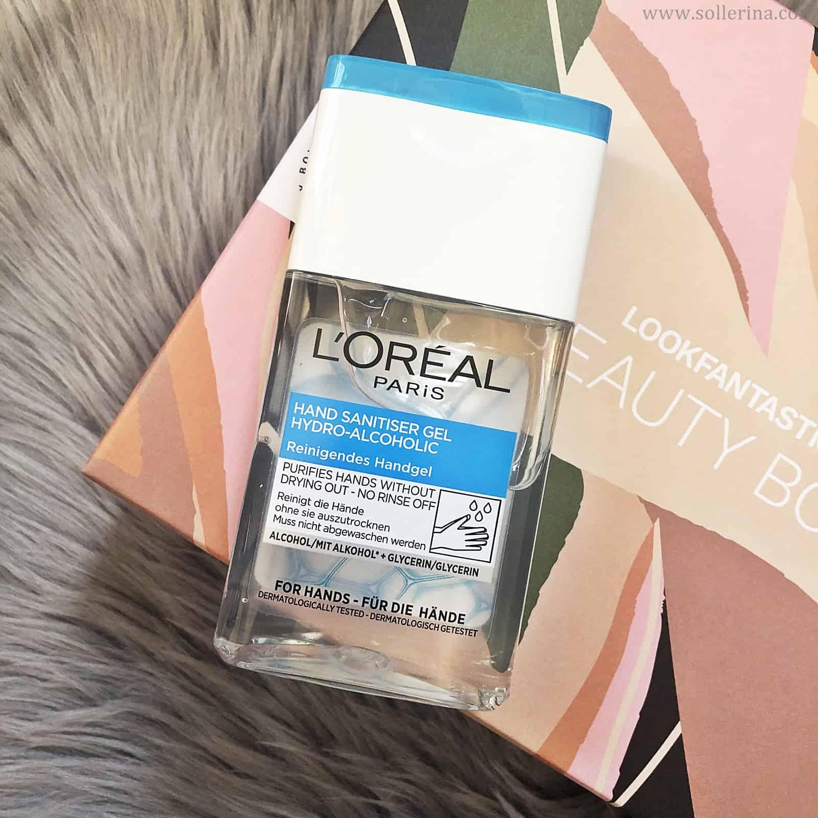 L'Oreal Paris – Hand Sanitiser Gel Hydro-Alcoholic