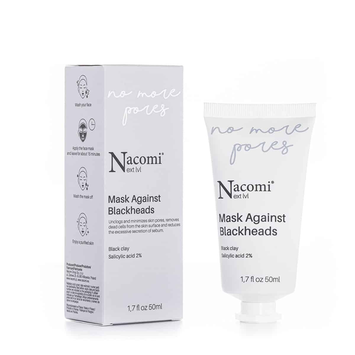 Nacomi Next Level – No More Pores – Maska przeciw zaskórnikom (Fot. Nacomi Next Level)