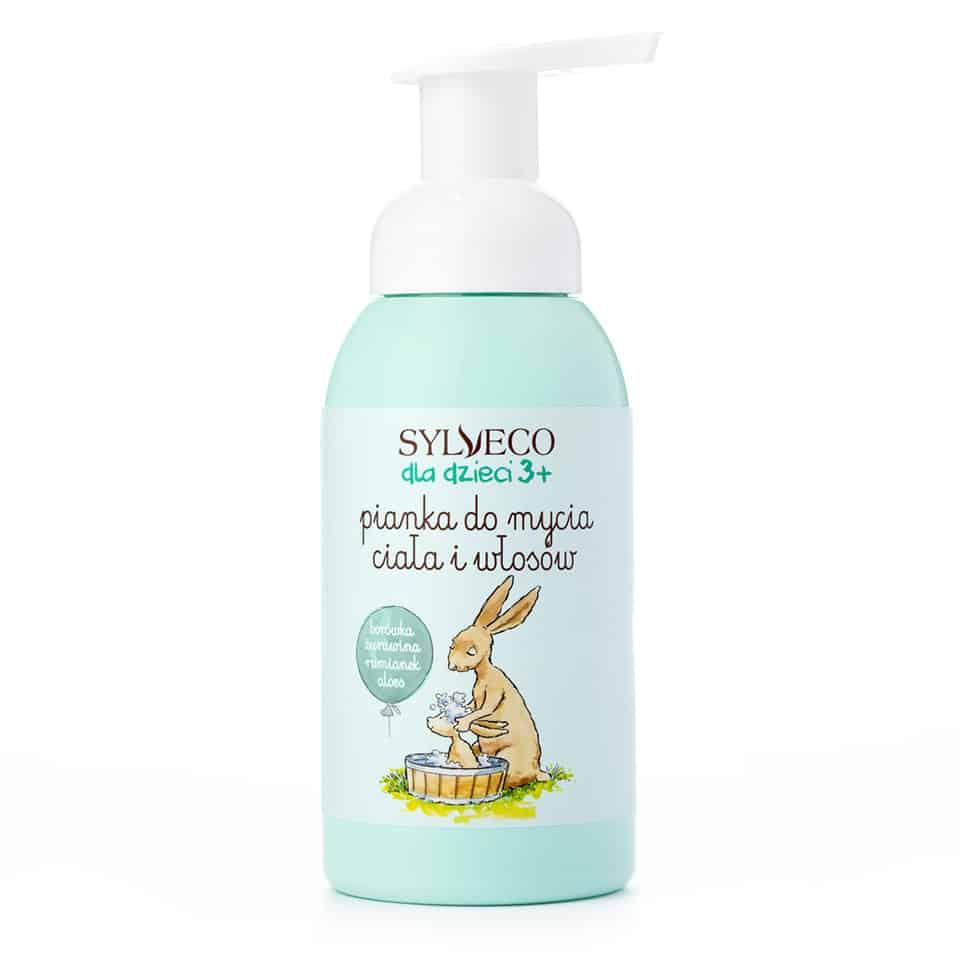 Sylveco – dla dzieci – Pianka do mycia ciała i włosów (Fot. Sylveco)