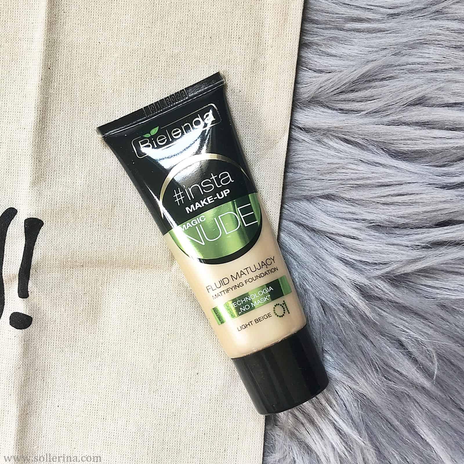 Bielenda – Insta Make-Up Magic Nude – Fluid matujący