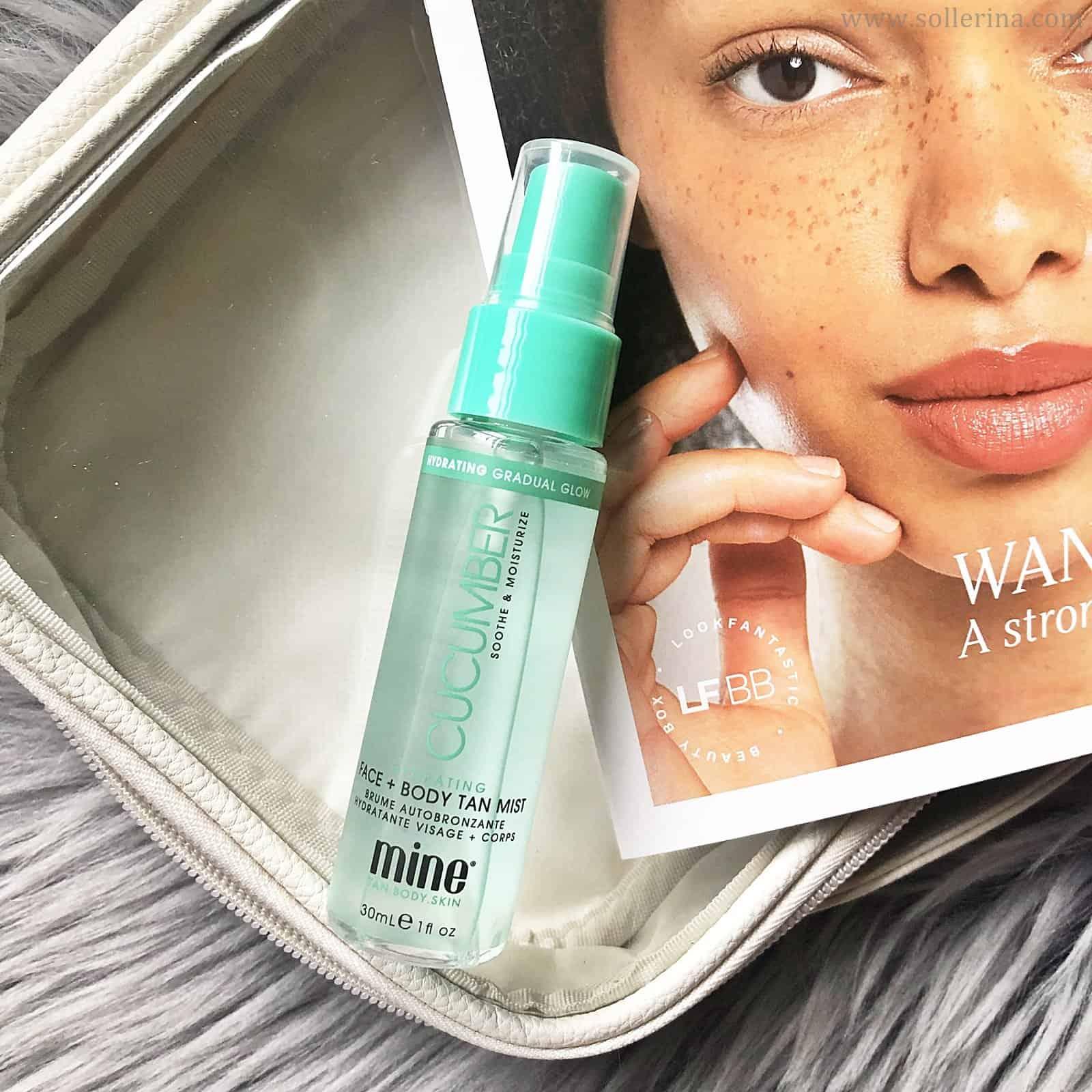 Minetan – Cucumber Hydrating Face & Body Mist