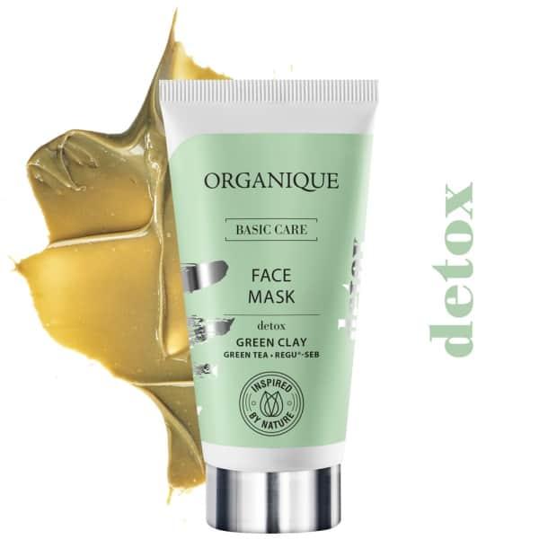 Organique – Basic Care – Detoksykująca maska do twarzy (Fot. Organique)