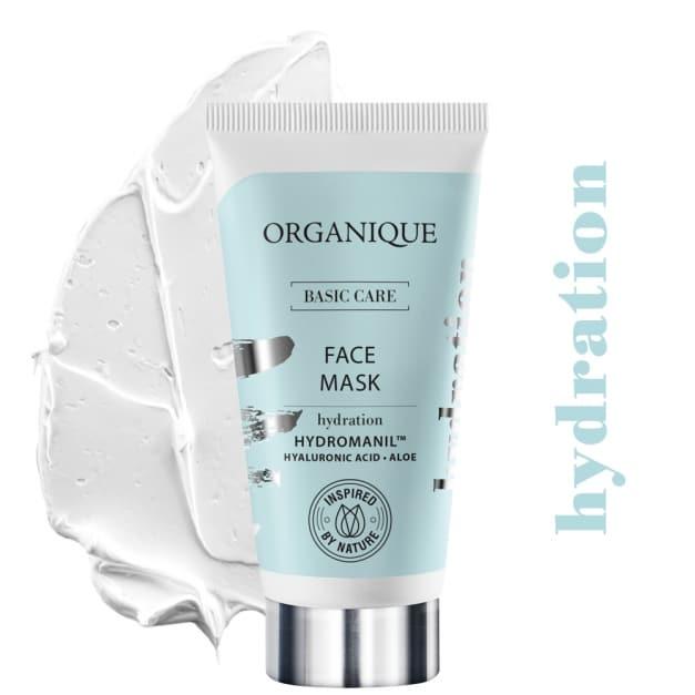 Organique – Basic Care – Nawilżająca maska do twarzy (Fot. Organique)