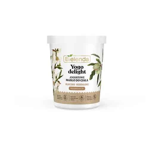 Bielenda – YOGO DELIGHT – Jogurtowe masło do ciała – Mleczko migdałowe (Fot. Bielenda)