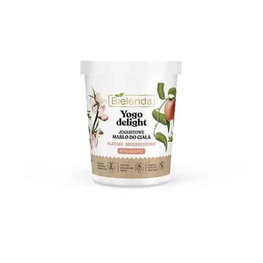 Bielenda – YOGO DELIGHT – Jogurtowe masło do ciała – Mleczko brzoskwiniowe (Fot. Bielenda)