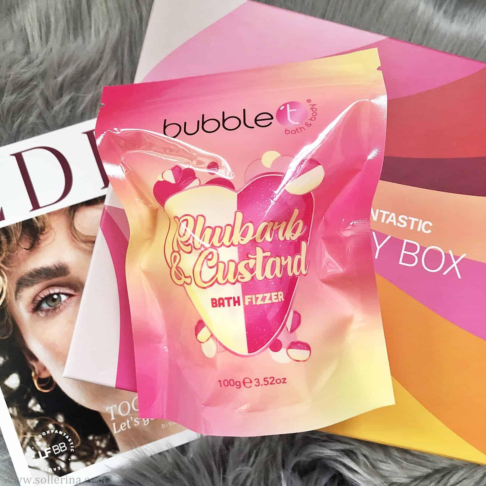 Bubble T – Rhubarb & Custard Bath Fizzer