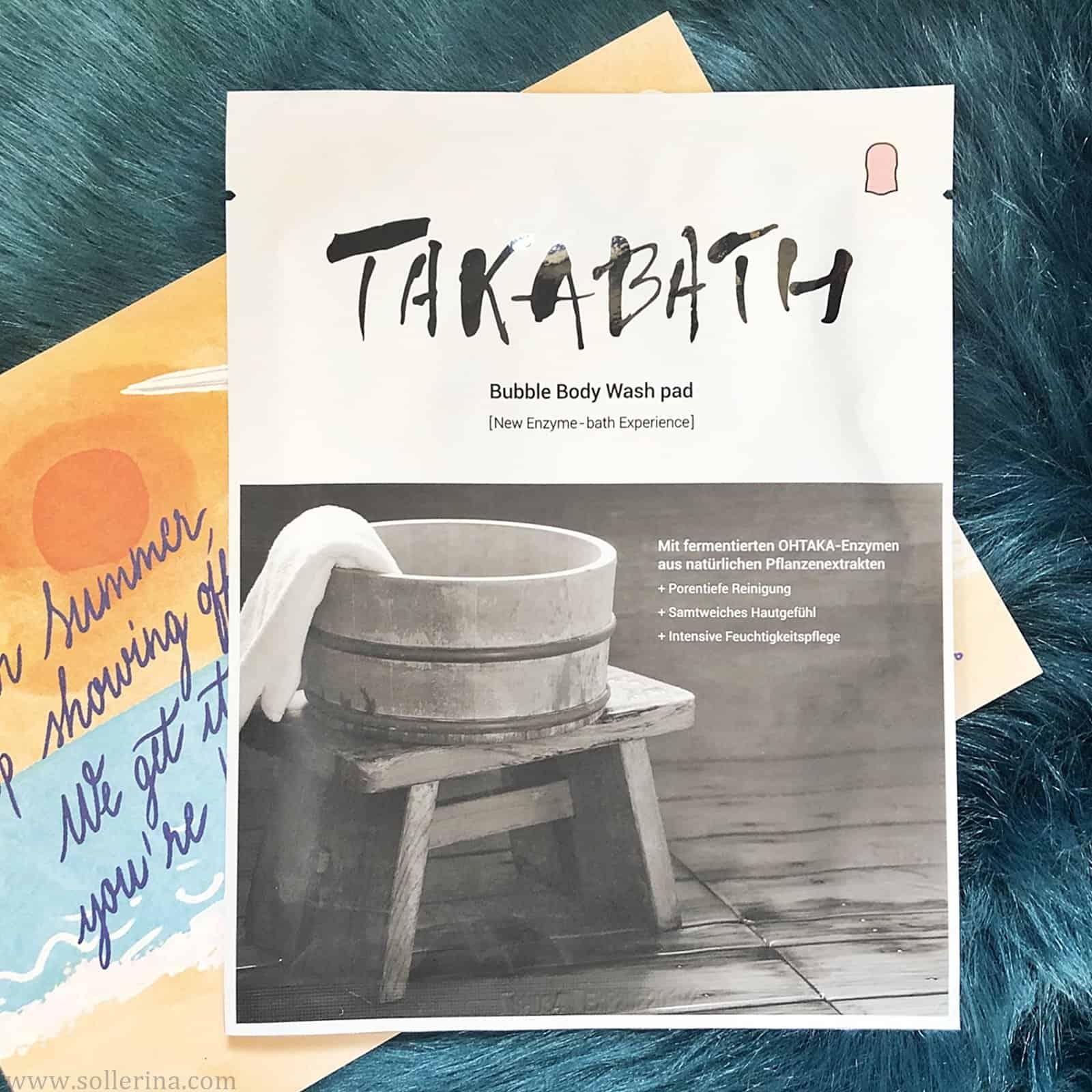 Takabath – Bubble Body Wash Pad