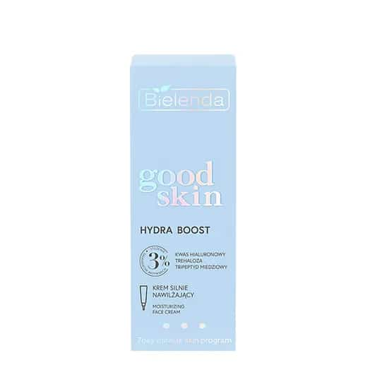 Bielenda – Good Skin – Hydra Boost – Krem silnie nawilżający - kwas hialuronowy, trehaloza, tripeptyd (Fot. Bielenda)