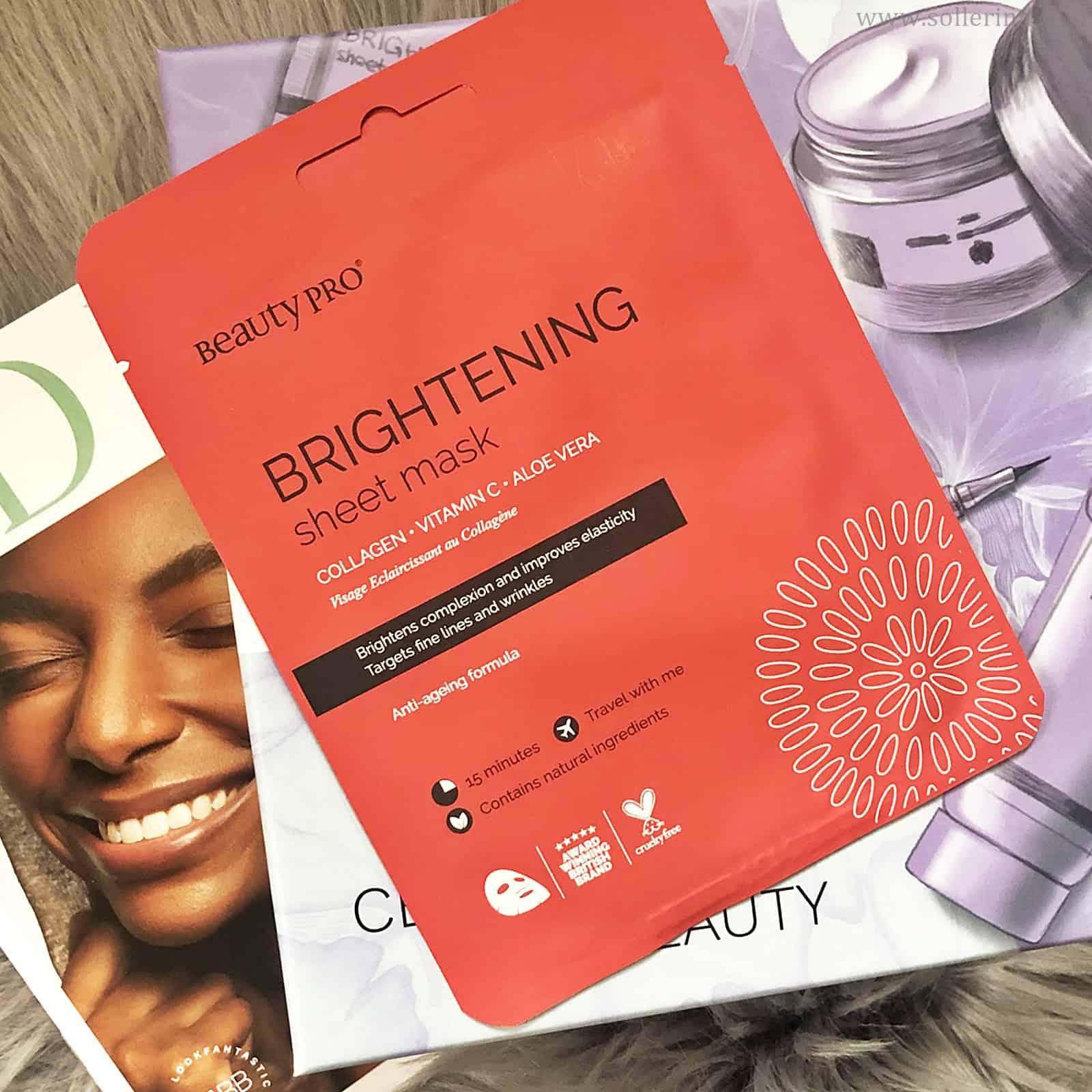 Beauty Pro – Brightening Sheet Mask
