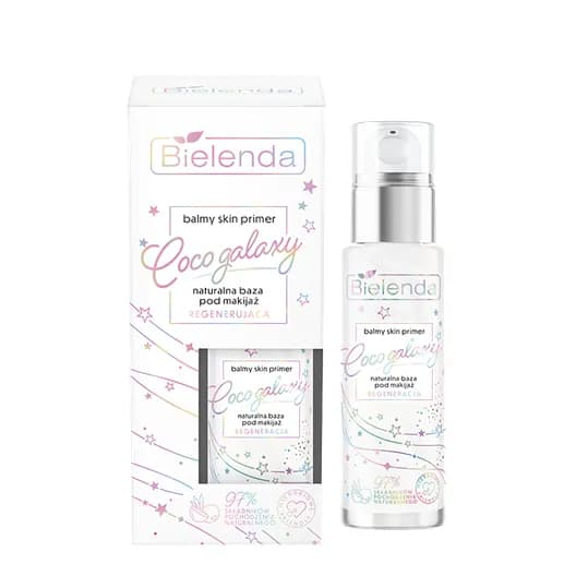 Bielenda – Balmy Skin Primer – Coco Galaxy – Naturalna baza pod makijaż REGENERUJĄCA (Fot. Bielenda)